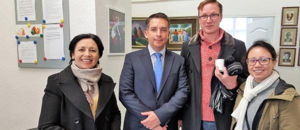 El Consulado de Colombia en Viena realizó el Consulado Móvil