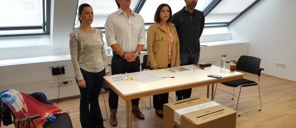 Inició la jornada electoral en el Consulado en Viena
