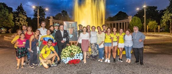 La Embajada de Colombia celebra histórico acto de conmemoración del Bicentenario de Independencia