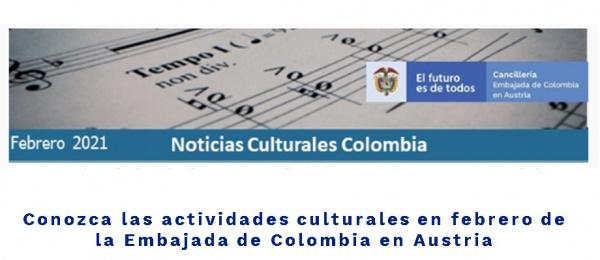 Conozca las actividades culturales en febrero de la Embajada de Colombia en Austria