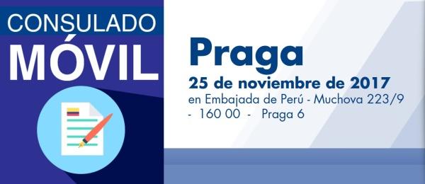 El Consulado de Colombia en Viena realizará un Consulado Móvil en Praga, el 25 de noviembre de 2017