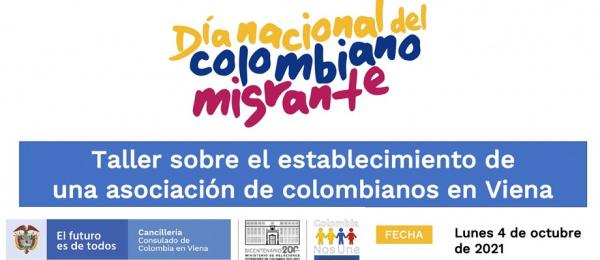 Taller sobre el establecimiento de una asociación de colombianos