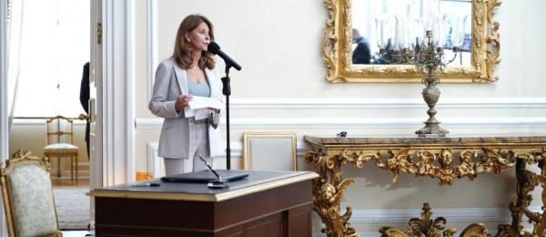 Palabras de la Canciller Marta Lucía Ramírez durante su posesión ante el presidente Iván Duque